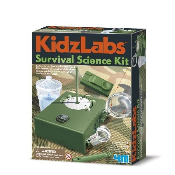 4M KIDZLABS - SURVIVAL SCIENCE KIT