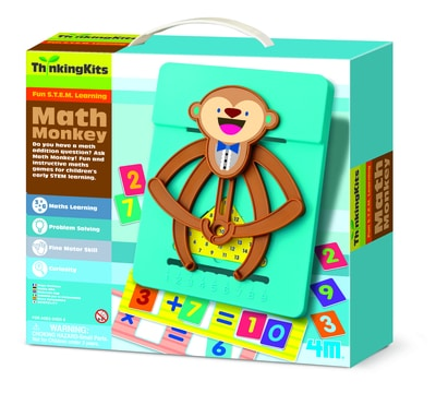 4M - Thinking Kits - Math Monkey1