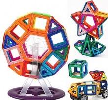 78 Pieces UniMag Magnetic building blocks
