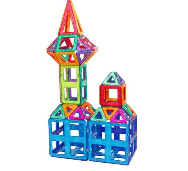 28 Pieces UniMag Magnetic building blocks