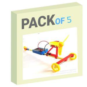 F1 Racing car - Pack of 5