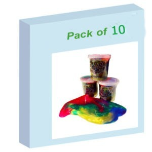 Galaxy slimepack of 10