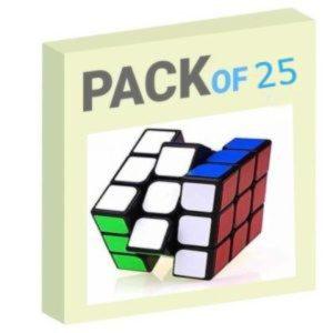 Speed Rubik's Cube Pack of 25