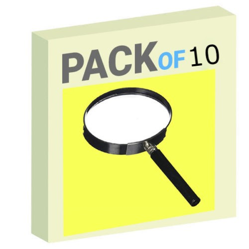 Magnifying Lens - Pack of 10