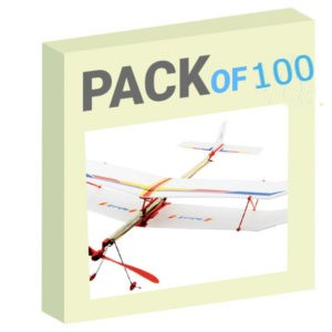 Rubber Band Plane - Pack of 100