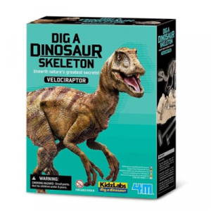 4M Dig a Dinosaur - Velociraptor