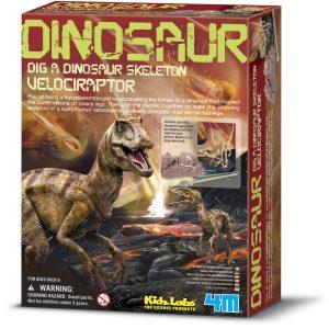 4M-Dig a Dinosaur-Velociraptor
