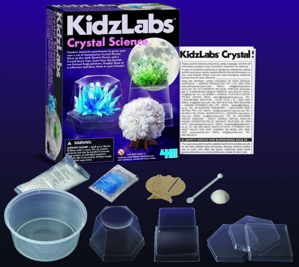 4M Kidzlabs Crystal Science