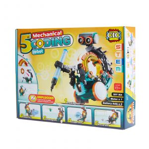 Johnco - 5 in 1 Mechanical Coding Robot