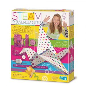 4M STEAM Powered Girls - Motorised Origami Bird