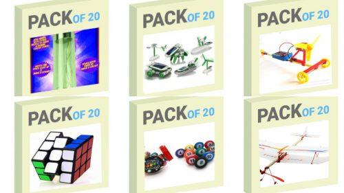 Pack Of STEM Toys