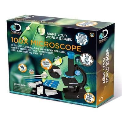 Discovery Adventures - 100X Microscope (36pc)