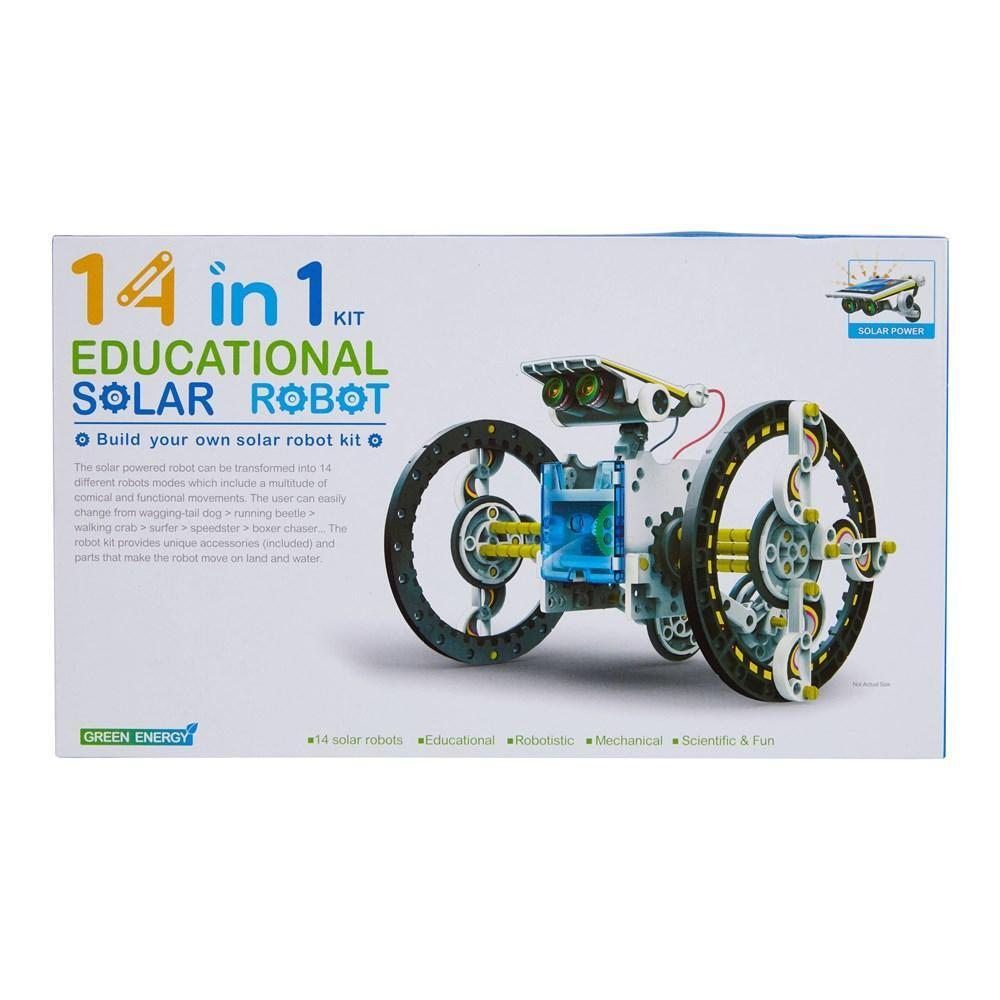 Johnco 14 in 1 Educational Solar Robot - Switched on kids