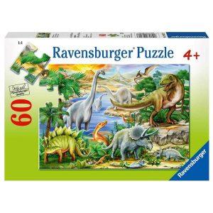 Ravensburger - Prehistoric Life Puzzle 60pc