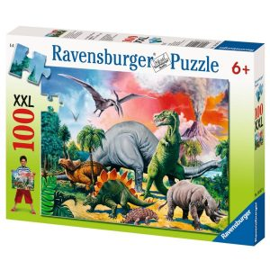 Ravensburger - Among the Dinosaurs Puzzle 100pc