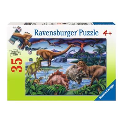 Ravensburger – Dinosaur Playground Puzzle 35pc