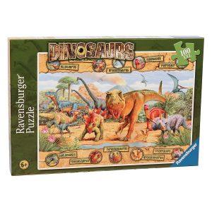 Ravensburger – Dinosaurs Puzzle 100pc