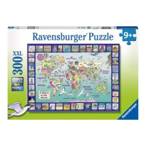 Ravensburger – Looking at the World Puzzle 300pc
