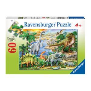 Ravensburger – Prehistoric Life Puzzle 60pc