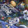 Ravensburger - Cosmic Exploration Puzzle 200pc