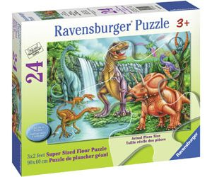 Ravensburger - Dino Falls SuperSize Puzzle 24pc