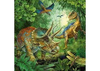 Ravensburger - Dinosaur Fascination Puzzle 3x49pc