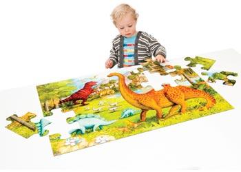 Ravensburger - Dinosaur Pals SuperSize Puzzle 24pc