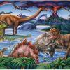 Ravensburger - Dinosaur Playground Puzzle 35pc