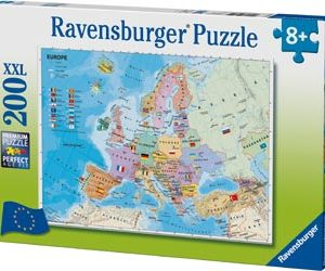 Ravensburger - European map puzzle 200pcs