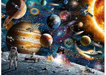 Ravensburger - Outer Space Puzzle 150pc