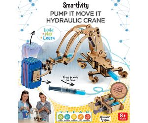 Smartivity - Pump It Move It Hydraulic Crane