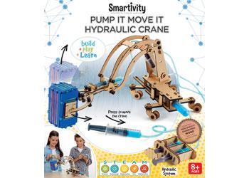 Smartivity - Pump It Move It Hydraulic Crane