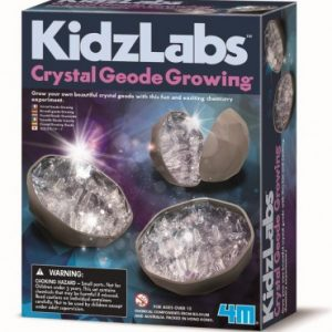4M - KidzLabs - Crystal Geode Growing Kit