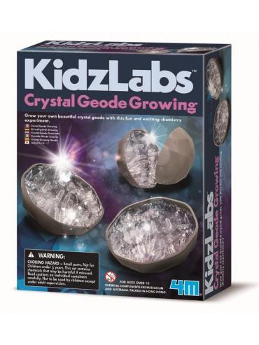 4M - KidzLabs - Crystal Geode Growing Kit
