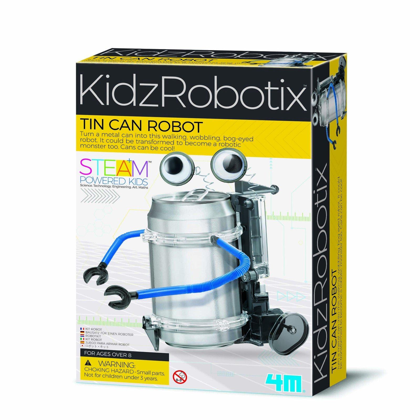 4M Kidz Robotix Tin Can Robot