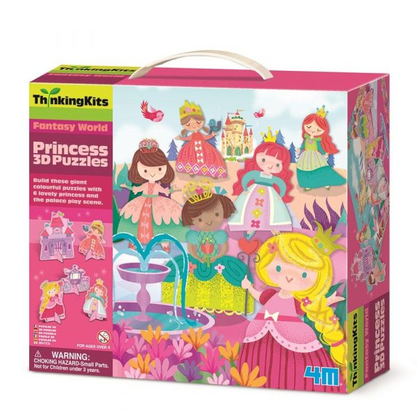 4M - ThinkingKits - Princess 3D Puzzle