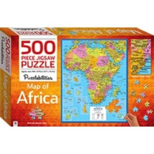 Puzzlebilities - Map of Africa 500 pcs