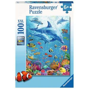 Ravensburger - Dinosaurs Puzzle 100pc