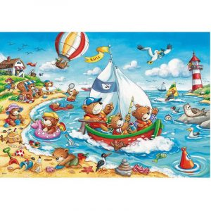 Ravensburger - Seaside Holiday Puzzle 2x24 pieces