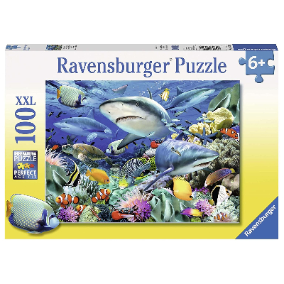 Ravensburger - Reef of the Sharks Puzzle 100pc