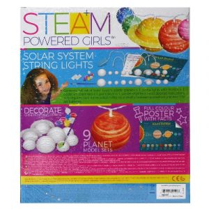 4M - STEAM Powered Girls - Solar System String Lights