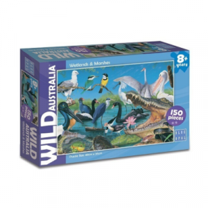 Blue Opal - Wild Australia Wetlands & Marshes Puzzle 150pc