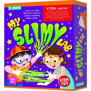 Explore STEM Medium - My Slimy Lab