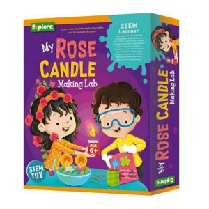 Explore STEM Medium - My Rose Candle Making Lab