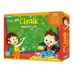 Explore STEM Deluxe Kit - My Chalk Making Lab