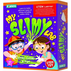 Explore STEM Deluxe Kit - My Slimy Gooey Lab