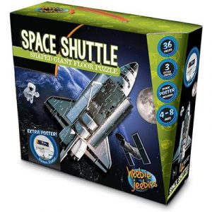 Heebie Jeebies Space Shuttle Floor Puzzle