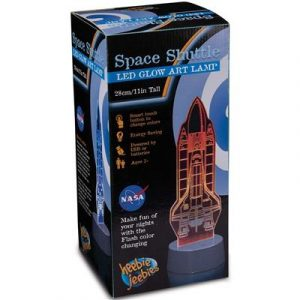 Heebie Jeebies The Space Shuttle LED Lamp
