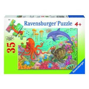 Ravensburger - Ocean Friends Puzzle 35 pieces