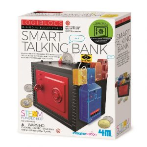 4M Logiblocs - Smart Talking Bank